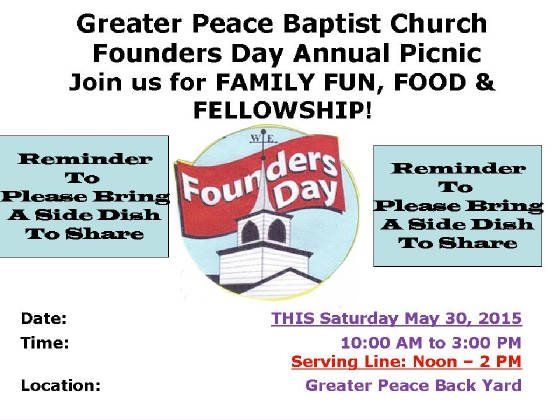 Founders day picnic 2015 m4hsunfo