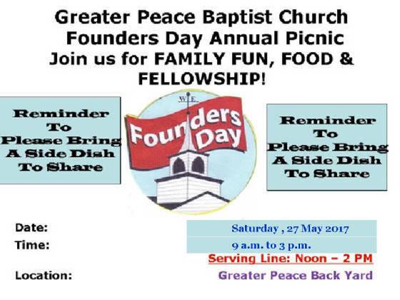 Founders day celebrations 2017 2017churchpicnicg m4hsunfo